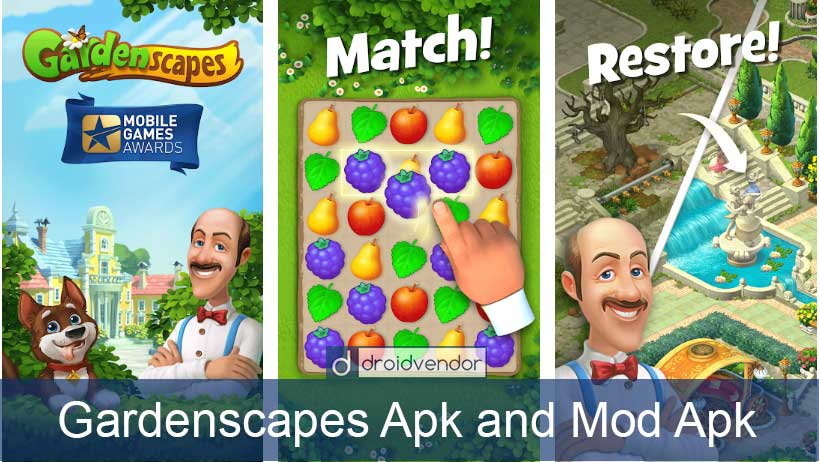 gardenscapes apk unlimited coins