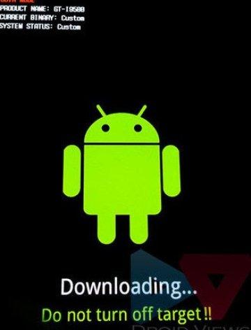 Galaxy S4 Download-Modus