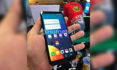 LG Q9 Hands-on image leaked online reveals 18:9 display