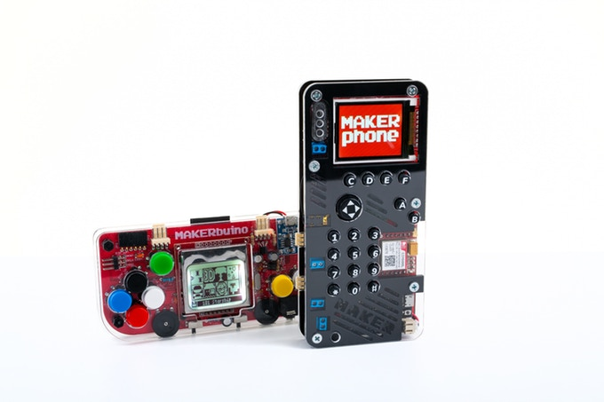 MAKERPhone - The Best DIY Phone you can build for just $94