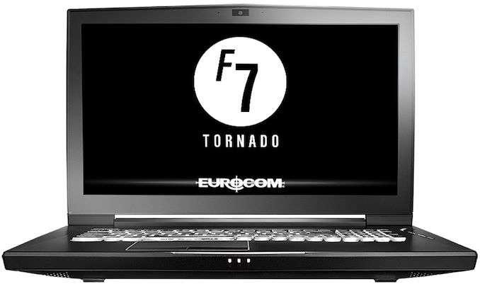 Eurocom unveiled Tornado F7W Laptop with i9-9900K, 128GB RAM