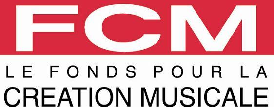 Logo du FCM Fonds pour la création musicale