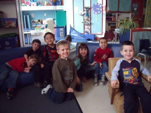 Groupe du Jardin d'enfants Durocher
