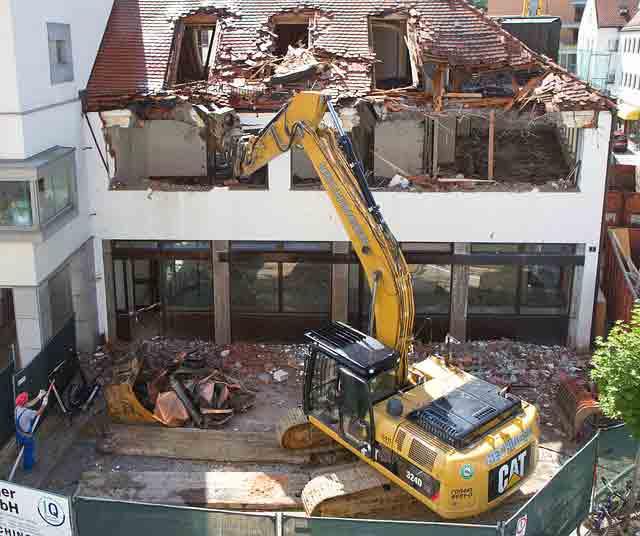 permis de construire mais condamnée à démolir