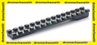 rail picatinny acier pour carabine Roessler Titan 3 et 6