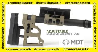 Crosse MDT Skeleton Carbine avec appuie joue et talon reglable avec tube 11