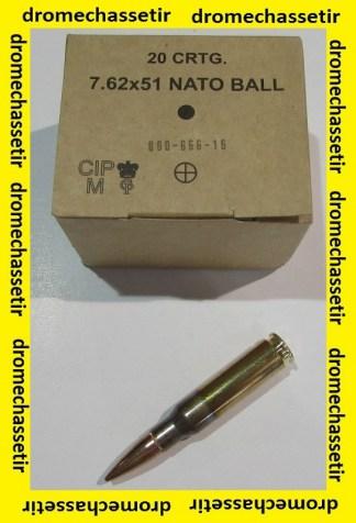 1 boite neuve de 20 cartouches de calibre 308 Winchester
