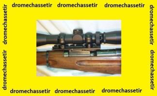 Montage type weaver pour Mosin Nagant M91/30 et M91/56