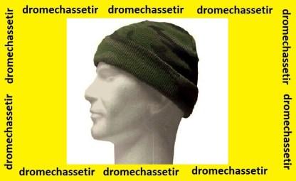 Bonnet de chasse en acrylique camo
