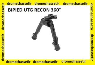 Bipied bas UTG RECON 360° pour rail picatinny