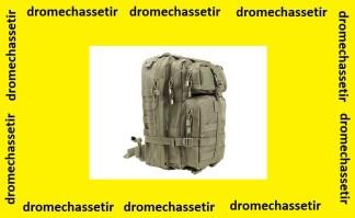 petit sac a dos back packtactiques avec multi compartiments gris foncé