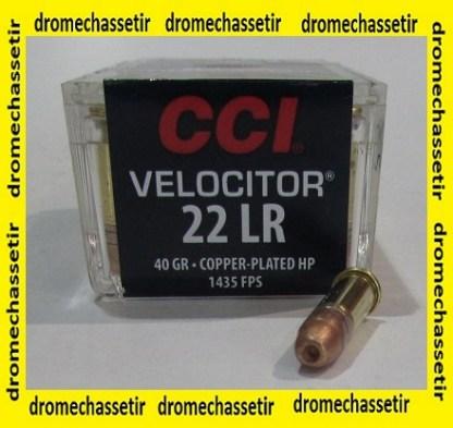 boite 50 cartouches 22Lr CCI Velocitor