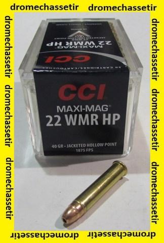 boite de 50 cartouches 22 WMR