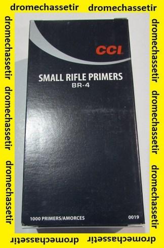 boite de 1000 amorces CCI Small Rifle BR4