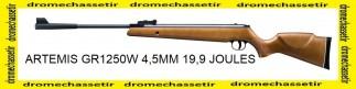 Carabine Artemis GR1250W