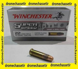 boite de 50 cartouches Winchester Super Speed