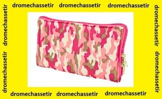 Pochette de rangement pink camo