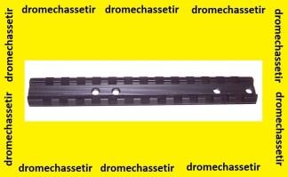 Rail picatinny pour ruger 10/22 noir