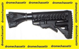 Crosse Tactique type M4 et retractable