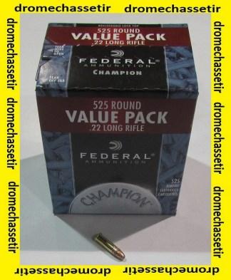 boite de 525 cartouches de 22Lr de marque Federal