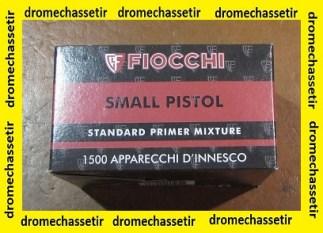 Pack de 1500 amorces Fiocchi Small pistol