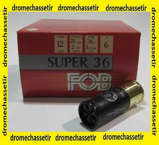 Boite 25 cartouches Fob Passion super 36