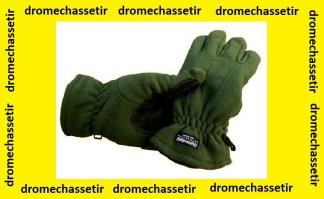 Paire de gants Thinsulate en polaire avec paume renforcé