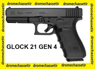 Pistolet Glock 21