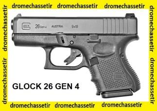 Pistolet Glock 26