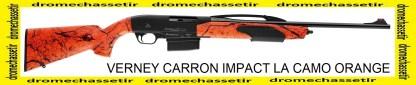 Carabine Verney carron Impact LA camo orange