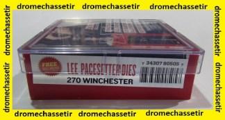 Jeux d outils lee pour le rechargement en calibre 270 winchester LEE