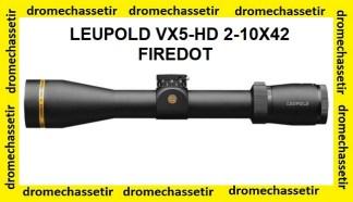 Lunette Leupold VX5-HD 2-10x42
