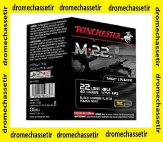 Pack de 500 cartouches Winchester M22