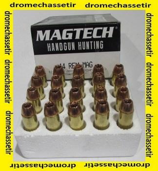 boite de 20 cartouches Magtech de cal 44 Rem Mag