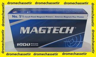 paquet 1000 amorces Magtech small pistol Magnum MAGTECH Armurerie en ligne