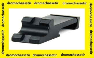 Embase picatinny a 45° en 21mm de largeur