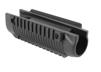 Pompe triple rail picatinny pour Remington 870