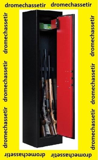 Coffre Fort Elite Pionner modele Pioneer II-4 pour 7 armes avec coffre interieur