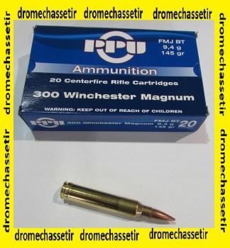 Boite de 20 cartouches calibre 300 Winchester Magnum