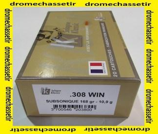 boite 20 cartouches de calibre 308 winchester