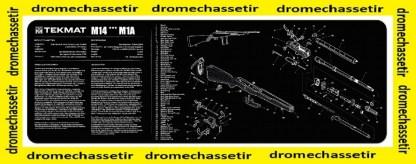 Tapis de nettoyage neoprene decor M14 (M1A)