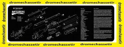 Tapis de nettoyage neoprene decor Fusil a pompe Mossberg
