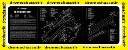 Tapis de nettoyage neoprene decor Winchester 94