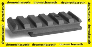 Rail picatinny pour UZI Walther 22lr