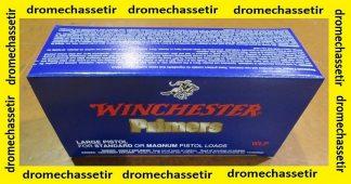 pack de 1000 amorces Large pistol de marque winchester