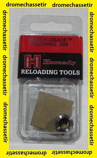 Bushing Grade match Hornady 0.289, ref 594289
