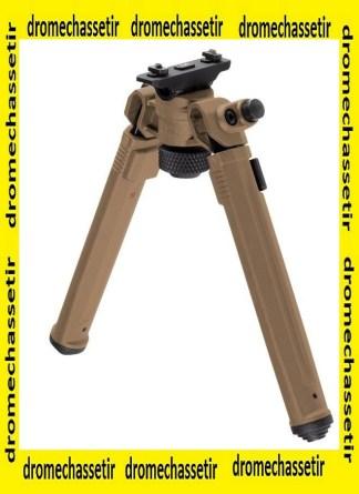 bipied Magpul a fixation M-lok, 16cm a 26cm de hauteur, FDE, MPL-MAG933FDE