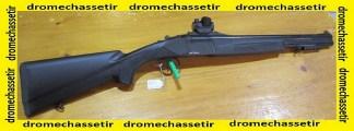 Fusil ATTILA superposé composite slug cal 12/76, point rouge, occasion