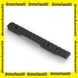 Rail Picatinny Remington 700 action courte, 20 moa Tennalum® 7068 Precision armament
