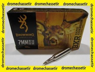 boite de 20 cartouches Browning BXR, cal 7mm remington magnum, 144 grains